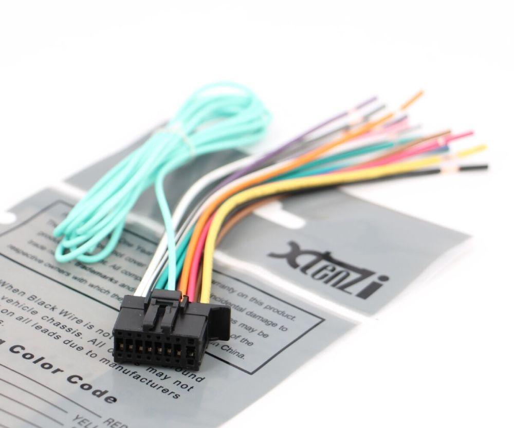 medium resolution of xtenzi wire harness for pioneer avic 5100nex 6100nex 7100nex cdp1666 for sale