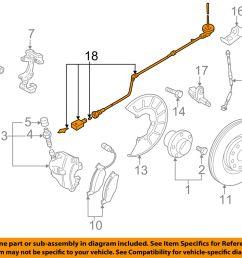vw volkswagen oem gti abs anti lock brakes front sensor wire left 1k0927903r for sale [ 1500 x 1197 Pixel ]