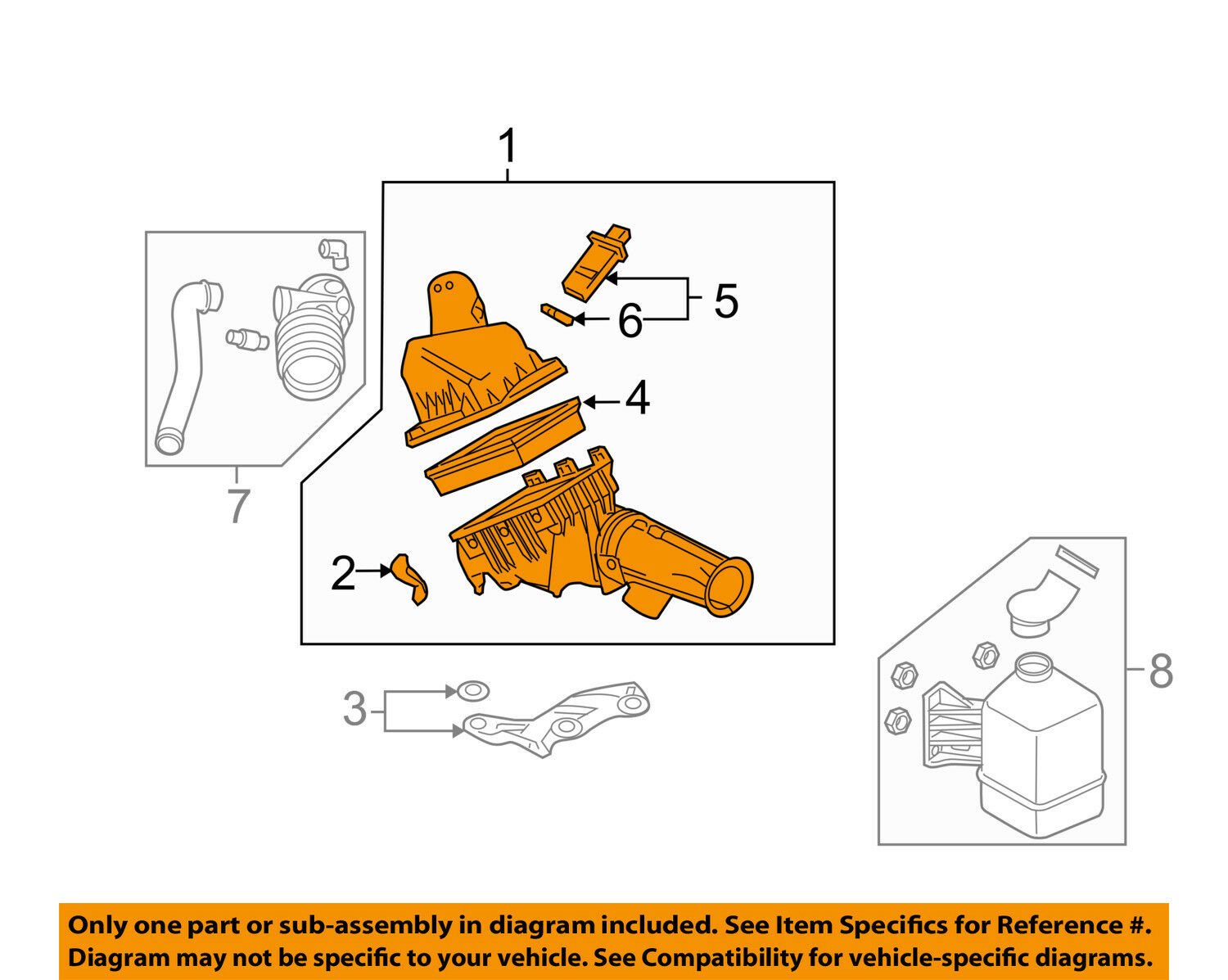hight resolution of ford intake diagram