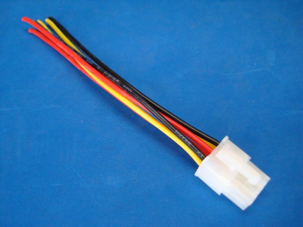 medium resolution of rockford fosgate punch amplifier 6 pin speaker wire harness plug 45hd 75hd 150hd 9 95