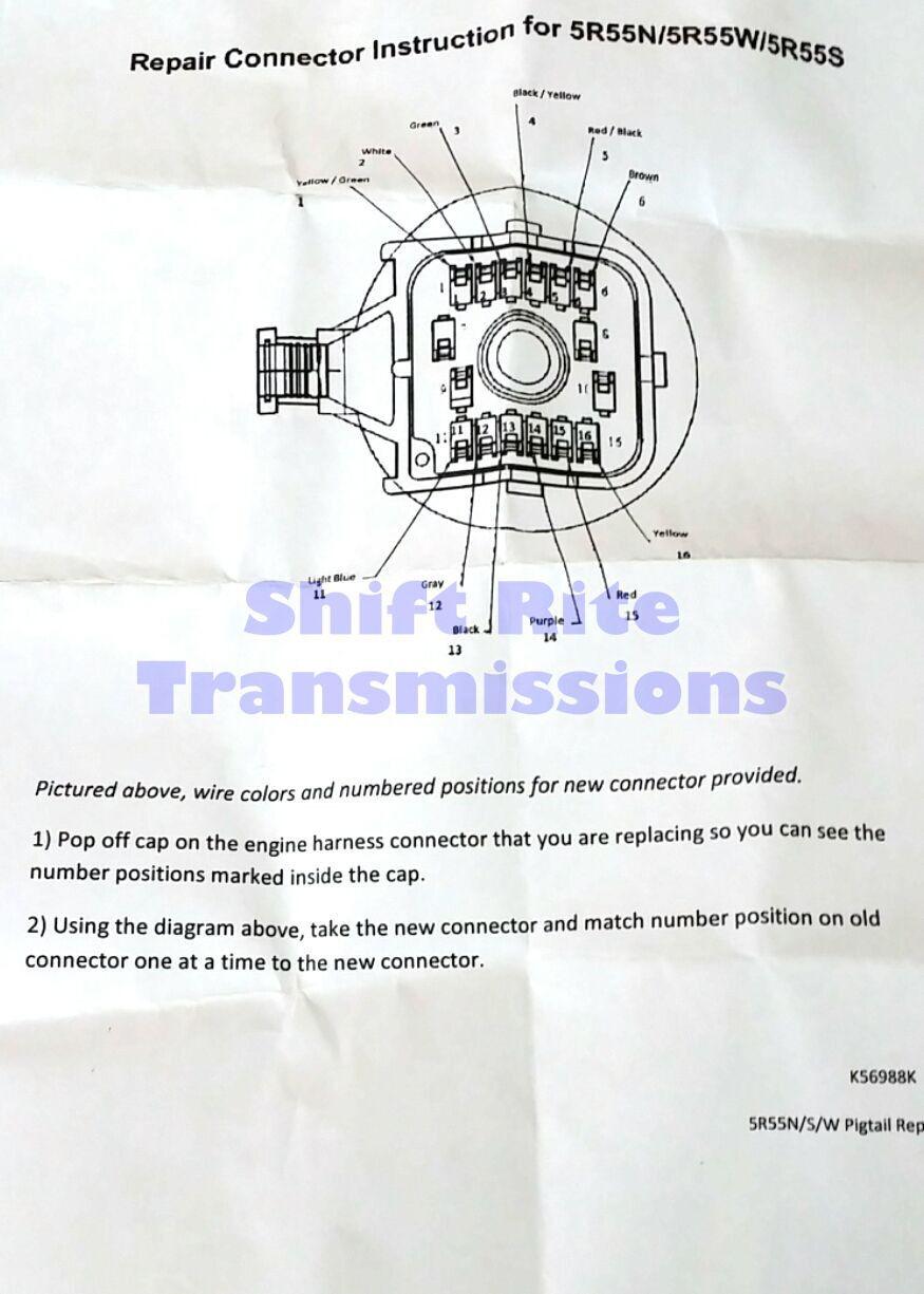41te Wiring Harness Diagram. 48re Diagram, 42re Diagram, A500 ... on