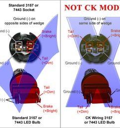 jdm astar 3157 3457 srck ck socket red ax 2835 smd turn signal led light [ 1500 x 1314 Pixel ]