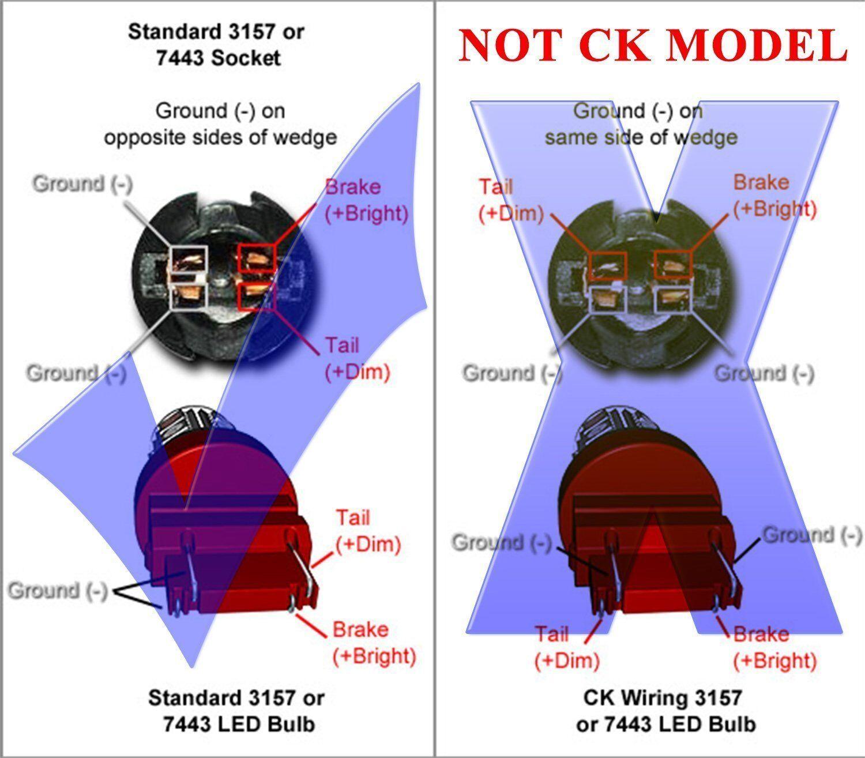 hight resolution of jdm astar 3157 3457 srck ck socket red ax 2835 smd turn signal led light