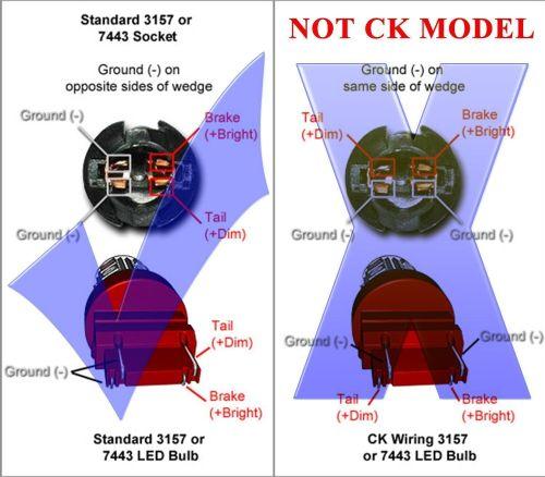 small resolution of jdm astar 3157 3457 srck ck socket red ax 2835 smd turn signal led light
