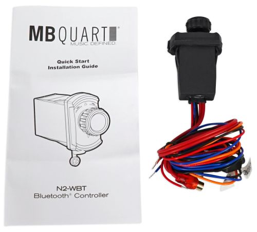 small resolution of mb quart n2 wbt wired bluetooth preamp controller for polaris atv alpine wiring diagram mb quart wiring diagram