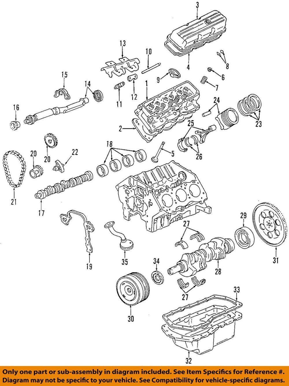 medium resolution of gm oem engine valve cover 12590363 61 91
