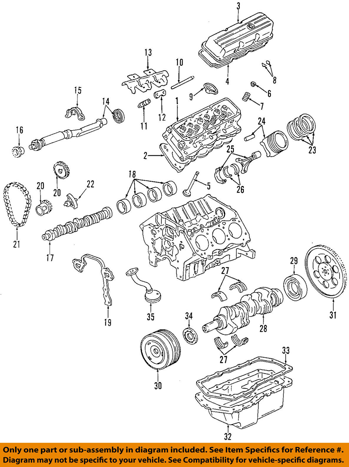 hight resolution of gm oem engine valve cover 12590363 61 91