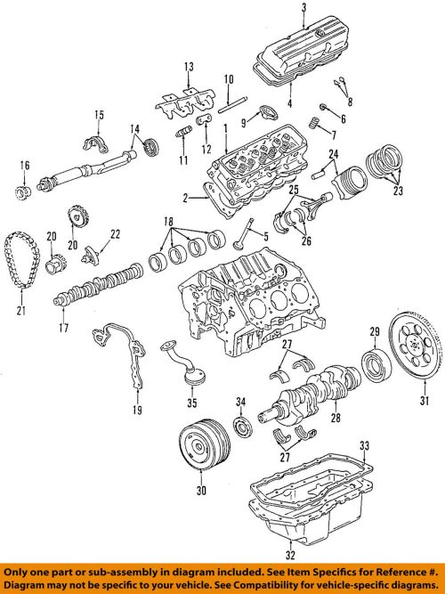 small resolution of gm oem engine valve cover 12590363 61 91