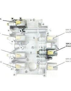 transmission direct coast solenoid and up set of ford torqshift also rh restomods