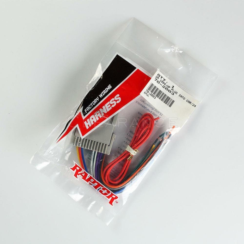 medium resolution of raptor metra gm 4004 70 2003 radio wire harness for 98 05 chevy gmc kia toyota for sale