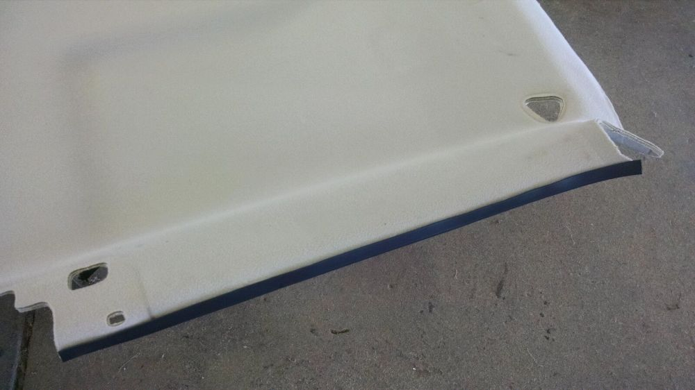 medium resolution of 99 06 silverado headliner falling on the edge repair trim material sierra for sale