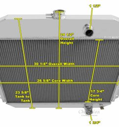 cooling systems parts accessories 1961 1964 ford f 100 f 250 f 350 pickup truck  [ 1290 x 998 Pixel ]
