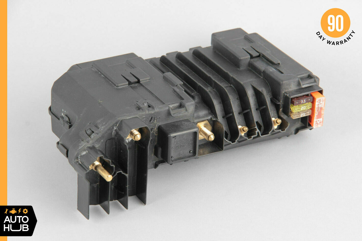 hight resolution of 07 09 mercedes w221 s550 power supply relay fuse box front right 2215401250 oem for