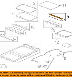 gm roof diagram [ 1500 x 1197 Pixel ]