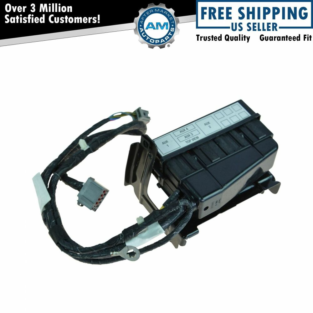 medium resolution of oem in dash upfitter switch wiring harness jumper for ford f250 f350 f450 f550 for sale