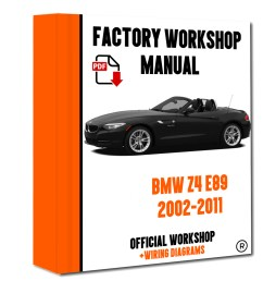 official workshop manual service repair bmw series z4 e89 2009 2016 for sale [ 1200 x 1500 Pixel ]