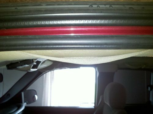 small resolution of 99 06 silverado headliner falling on the edge repair trim material sierra for sale