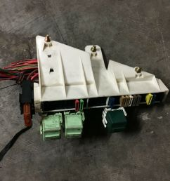 bmw oem e39 e38 rear trunk battery junction terminal wire fuse relay panel box for sale [ 1600 x 1200 Pixel ]