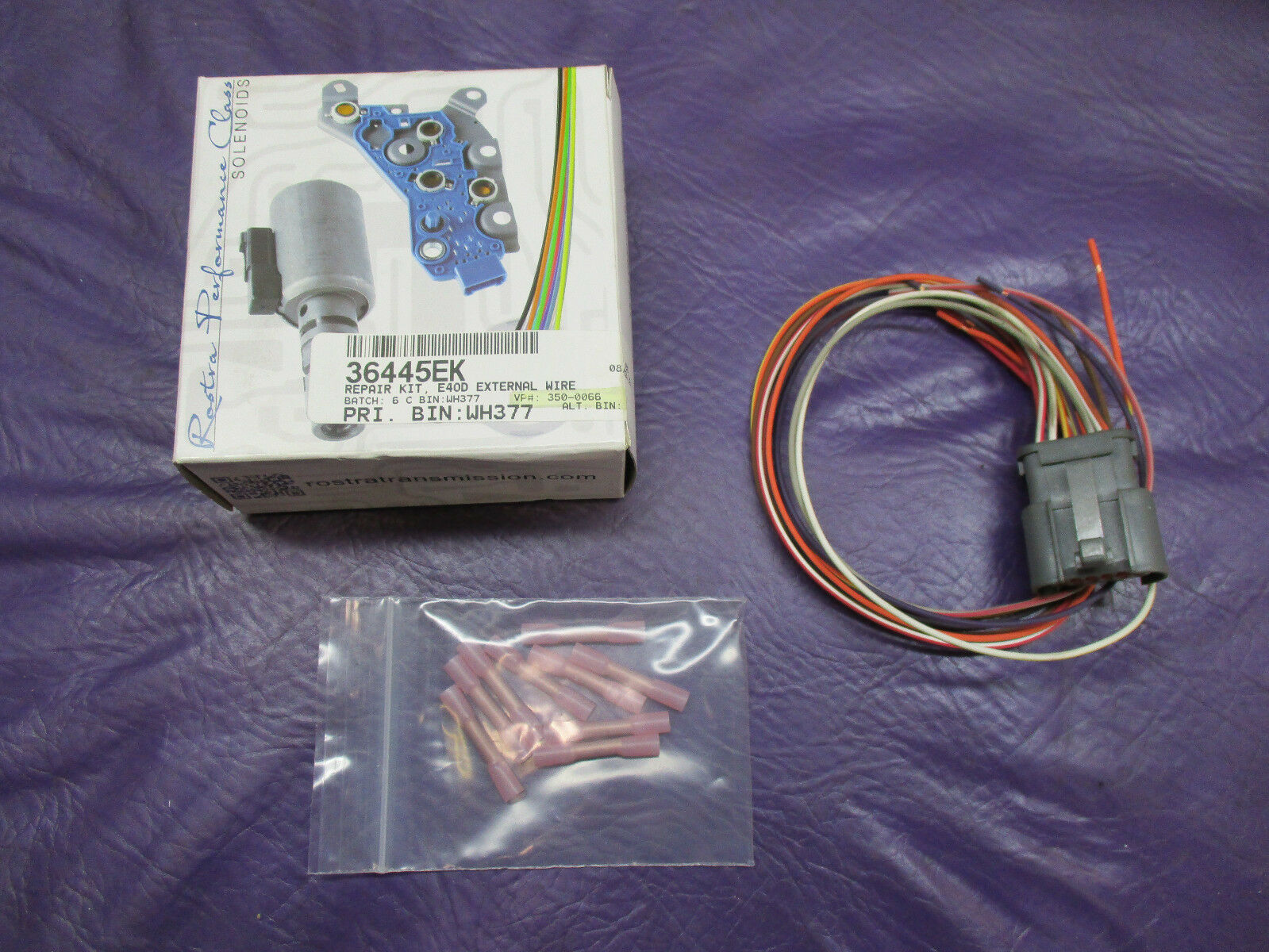 hight resolution of ford e4od transmission external wire harness repair kit 1989 1994 36445ek for sale