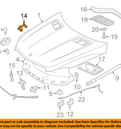 mercedes mercedes benz oem 12 15 ml350 hood lock latch striker 1668800164 for sale [ 1500 x 1197 Pixel ]