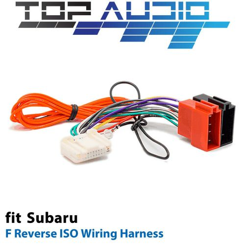 small resolution of f reverse iso wiring harness for subaru nissan app091f adaptor cable lead loom for sale