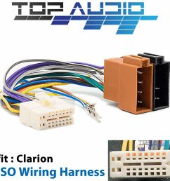 clarion cx305au iso wiring harness cable connector adaptor lead loom wire plug for sale [ 1600 x 1600 Pixel ]