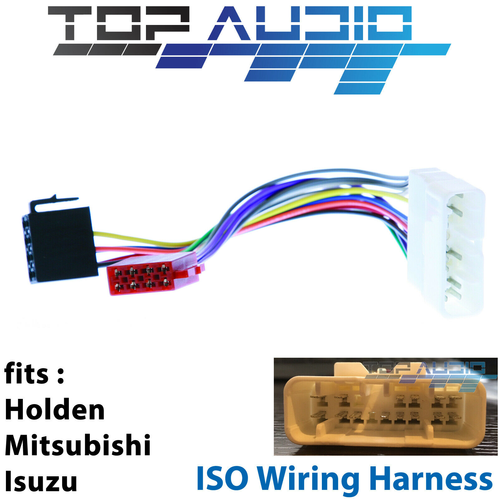 hight resolution of isuzu d max iso wiring harness adaptor cable connector lead loom plug wire for sale