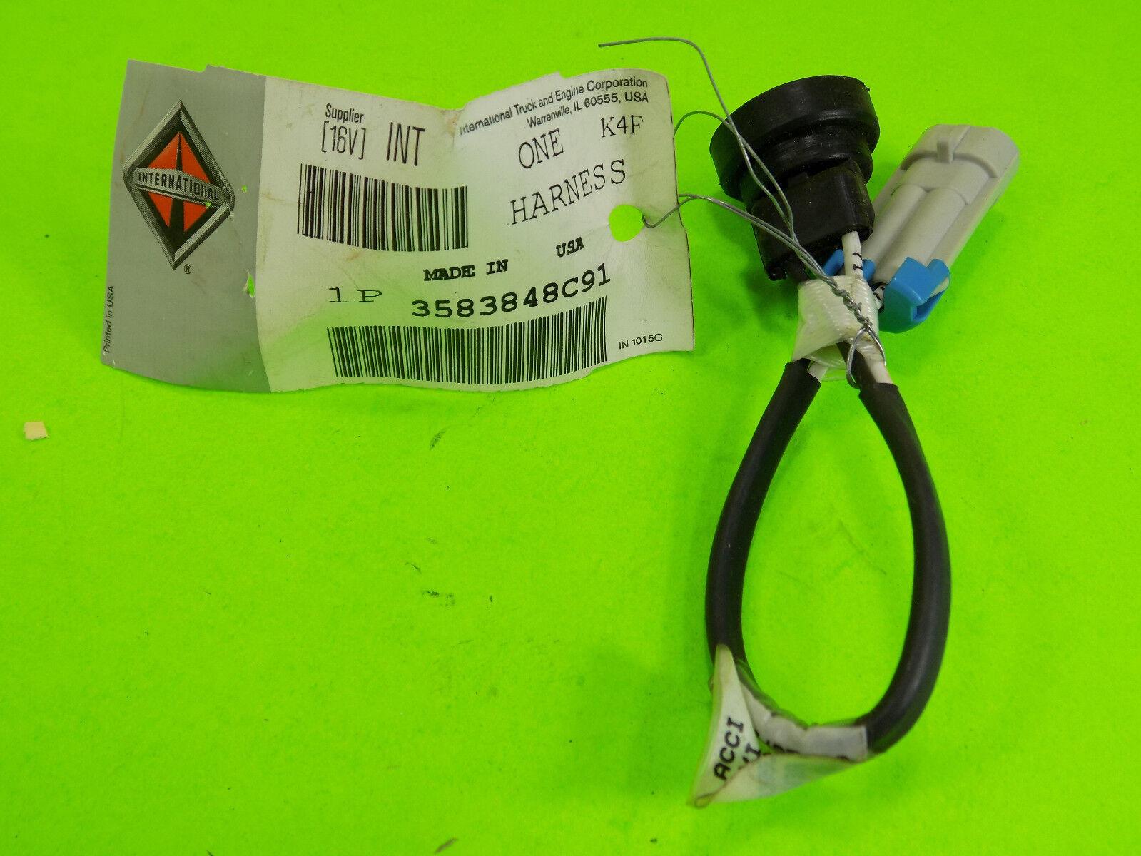 hight resolution of new genuine navistar international harness 3583848c91 18 00