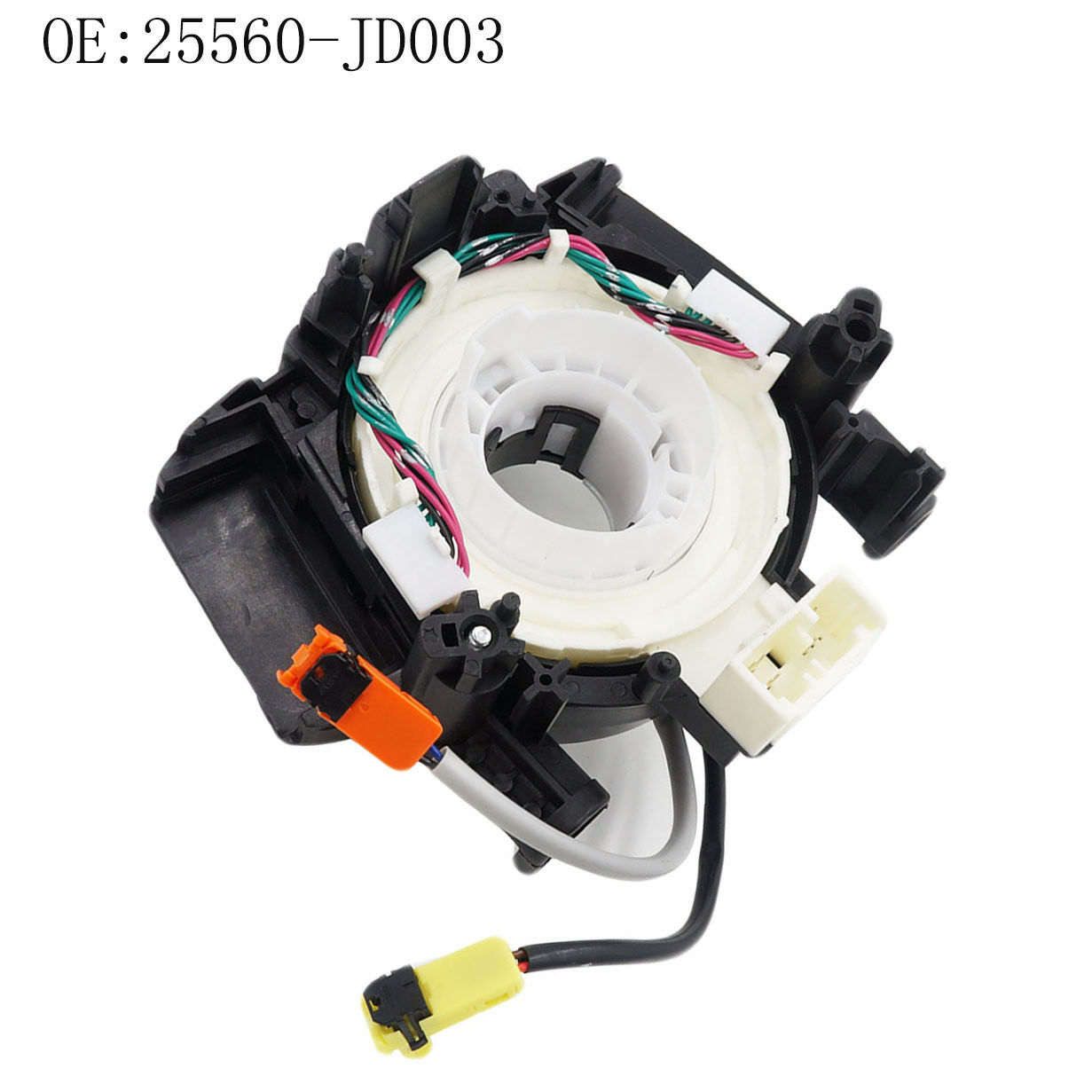 hight resolution of 25560 jd003 clock spring airbag spiral cable fits for nissan pathfinder qashqai for sale