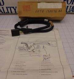 ford oem nos f5tz 13a576 aa trailer tow light wire wiring harness rear f series for sale [ 1600 x 1200 Pixel ]