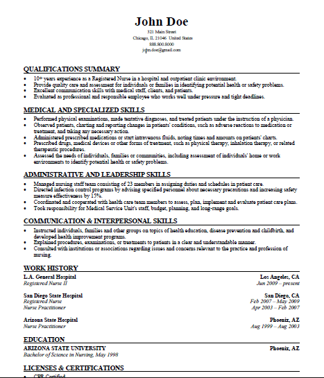 Resume Skill Set Examples Example Resume Graduate Skills And