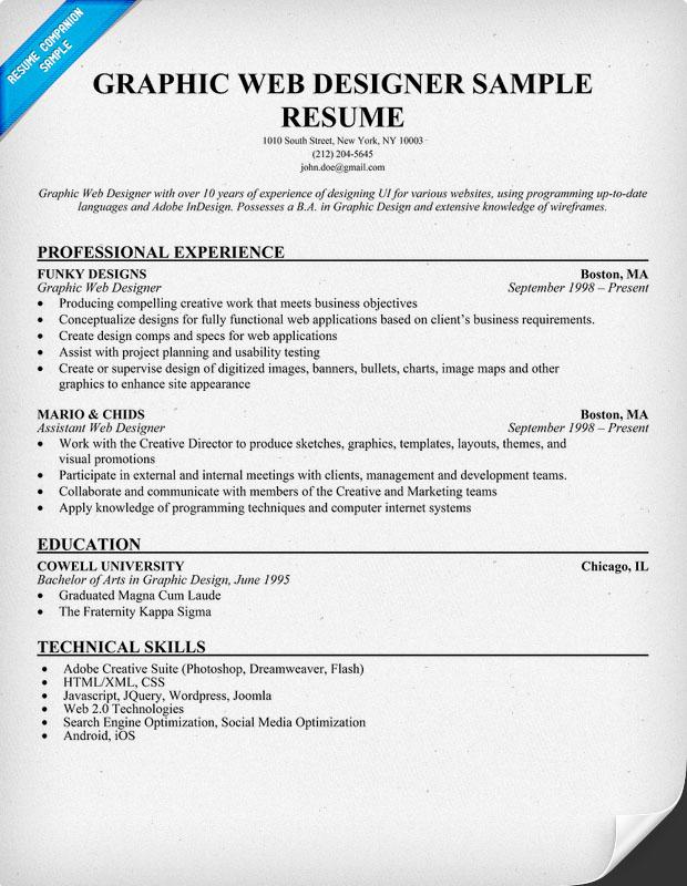 Resume For Entry Level Graphic Designer Cover Letter Sample Finance
