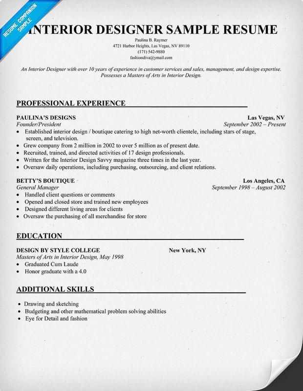 Graphic Design Intern Resume