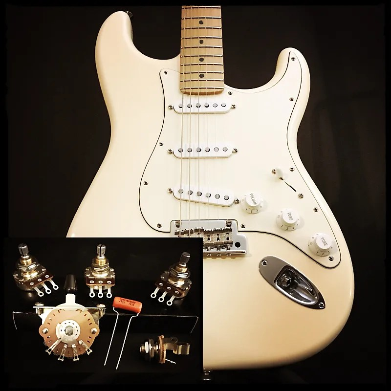 Emg Pickup Wiring Kit 3 Pickup Stratocaster Style Complete Wiring Kit