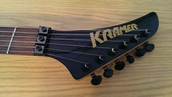 Kramer Vanguard S440S Electric Guitar Neon Yellow