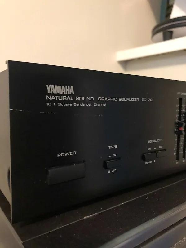 Yamaha Eq 70 : yamaha, Yamaha, EQ-70, Natural, Sound, Stereo, Graphic, Equalizer, Reverb