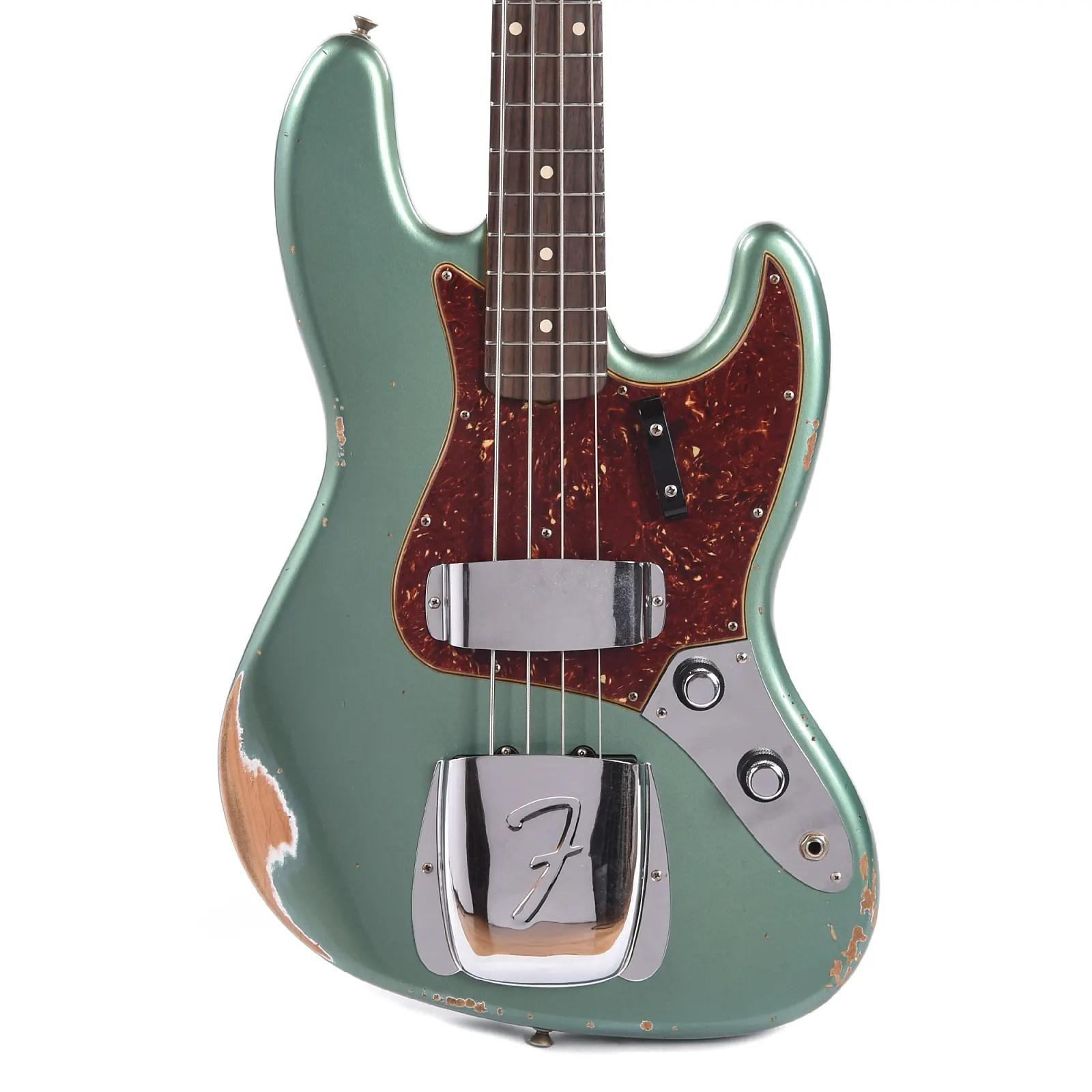 Fender Custom Shop Jazz Bass Cme Spec Relic Super