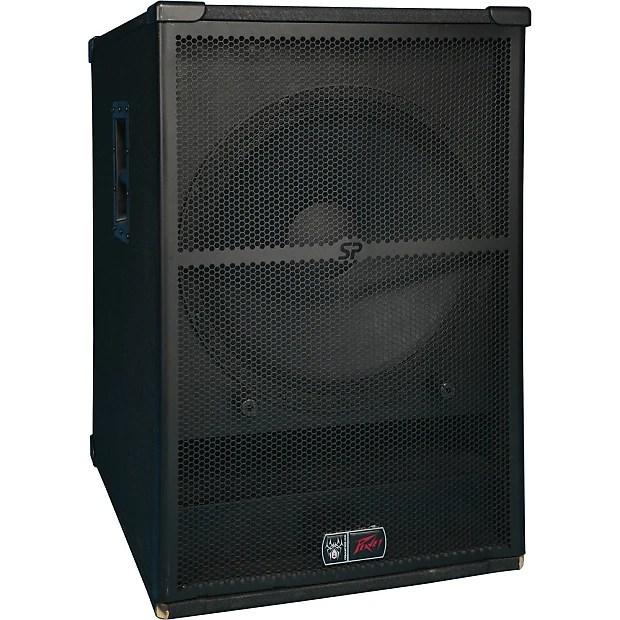 Peavey SP 2  SP 118 Pro Audio DJ Passive PA Speaker  Reverb