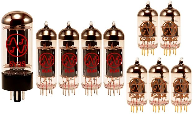 Mesa Boogie Lone Star Special Gold Pin Option JJ Retube Kit  Reverb
