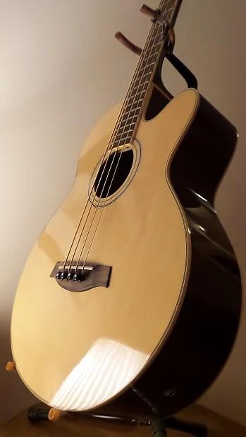 Ibanez Aeb5e Nt 3u 01 Acoustic Electric 4 String Bass