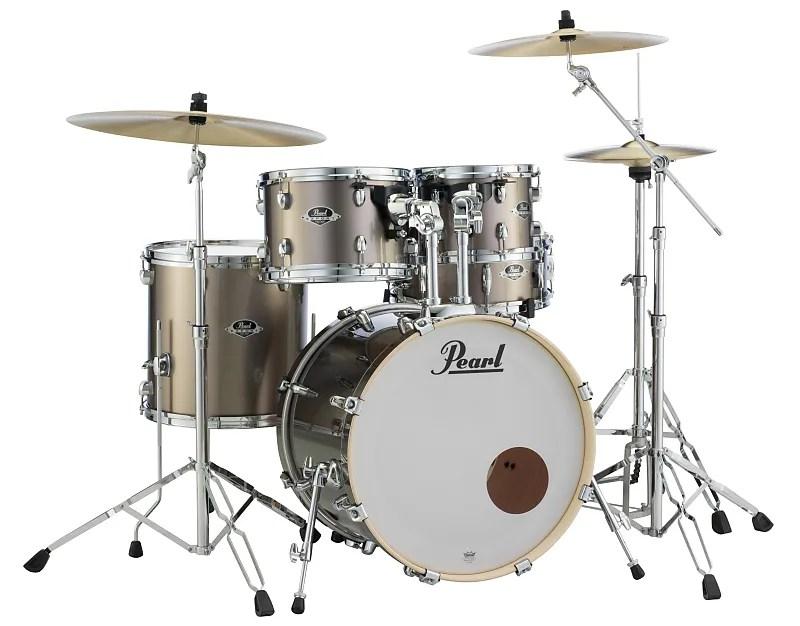 Pearl Export 5 Pc Drum Set W 830 Series Hardware Pack