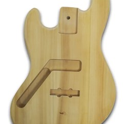 P Bass Body Dimensions 2001 Nissan Sentra Wiring Diagram Left Handed Diy Jb Guitar Unfinished Wood Reverb