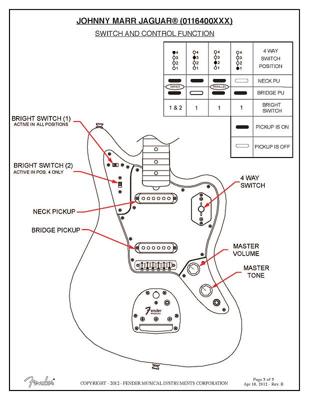 Johnny Marr Jaguar Wiring Diagram Collection