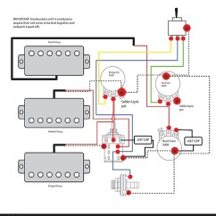 Gibson Guitar Pickup Wiring Diagrams 3 4 Hp Craftsman Garage Door Opener Diagram Les Paul Black Beauty Harness Bourns Reverb Cts Switchcraft Gold
