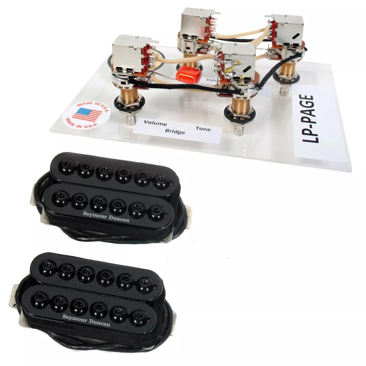 seymour duncan invader pickup wiring diagram 2016 chevy brake controller sh 8 humbucker set bk 43 free lp page