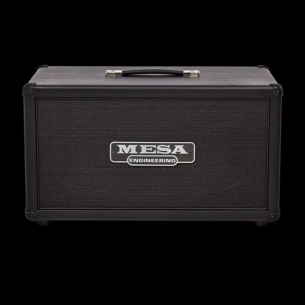 MESABoogie 2x12 Compact Rectifier Cabinet  Black Taurus   Reverb