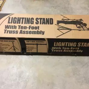 on stage ls7730 10 75 lighting stand w 10 truss