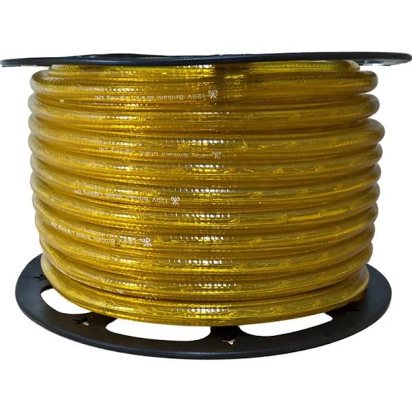 Yellow Incandescent Rope Lights Lighting - 150 Ft 3 8