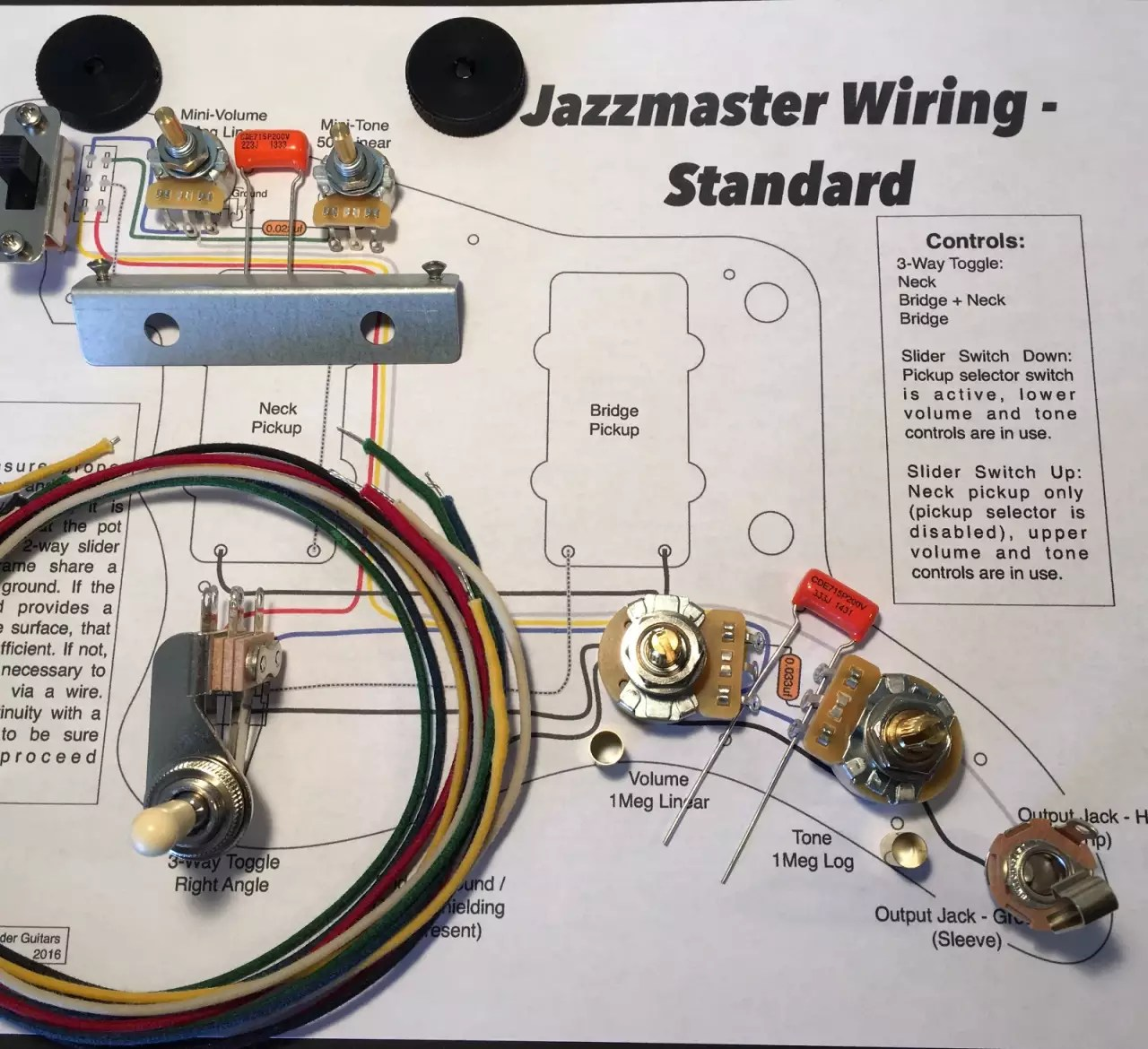 Wiring Diagrams Fender Jazzmaster Wiring Diagram Jazzmaster Wiring