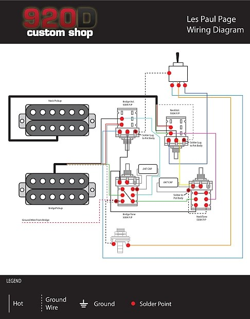 Re Jimmy Page Les Paul Wiring Diagram For A 2006 Model Help